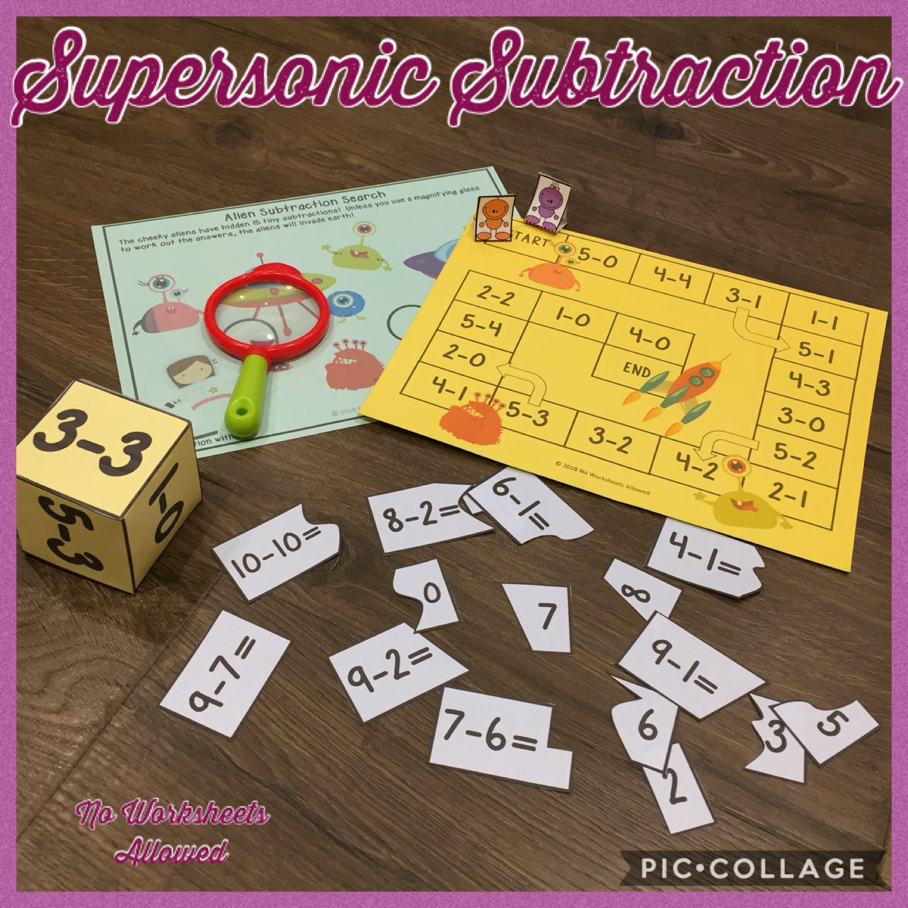 Subtraction Within 5 And Subtraction Within 10 Fun Hands