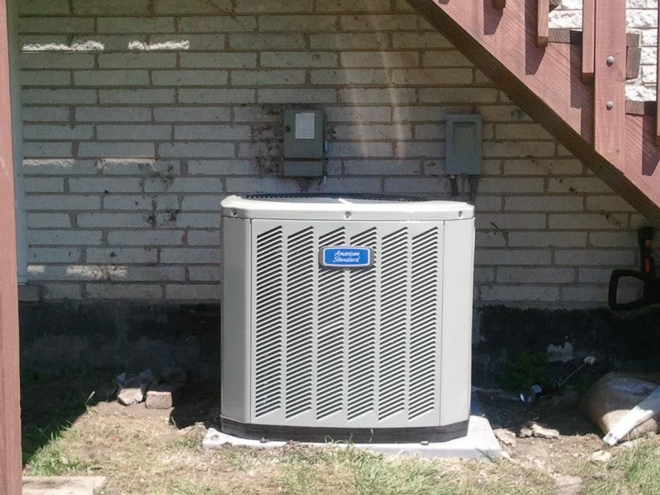 American Standard Silver Si 13 Seer Air Conditioner Also Known As The American Standard 13 Heating And Air Conditioning Water Heater Repair Forced Air Furnace