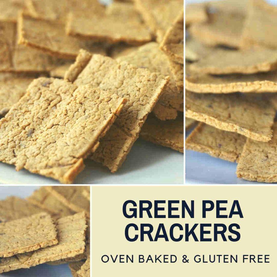 Cauliflower Crackers Chips Dairy Free Gluten Free Vegan