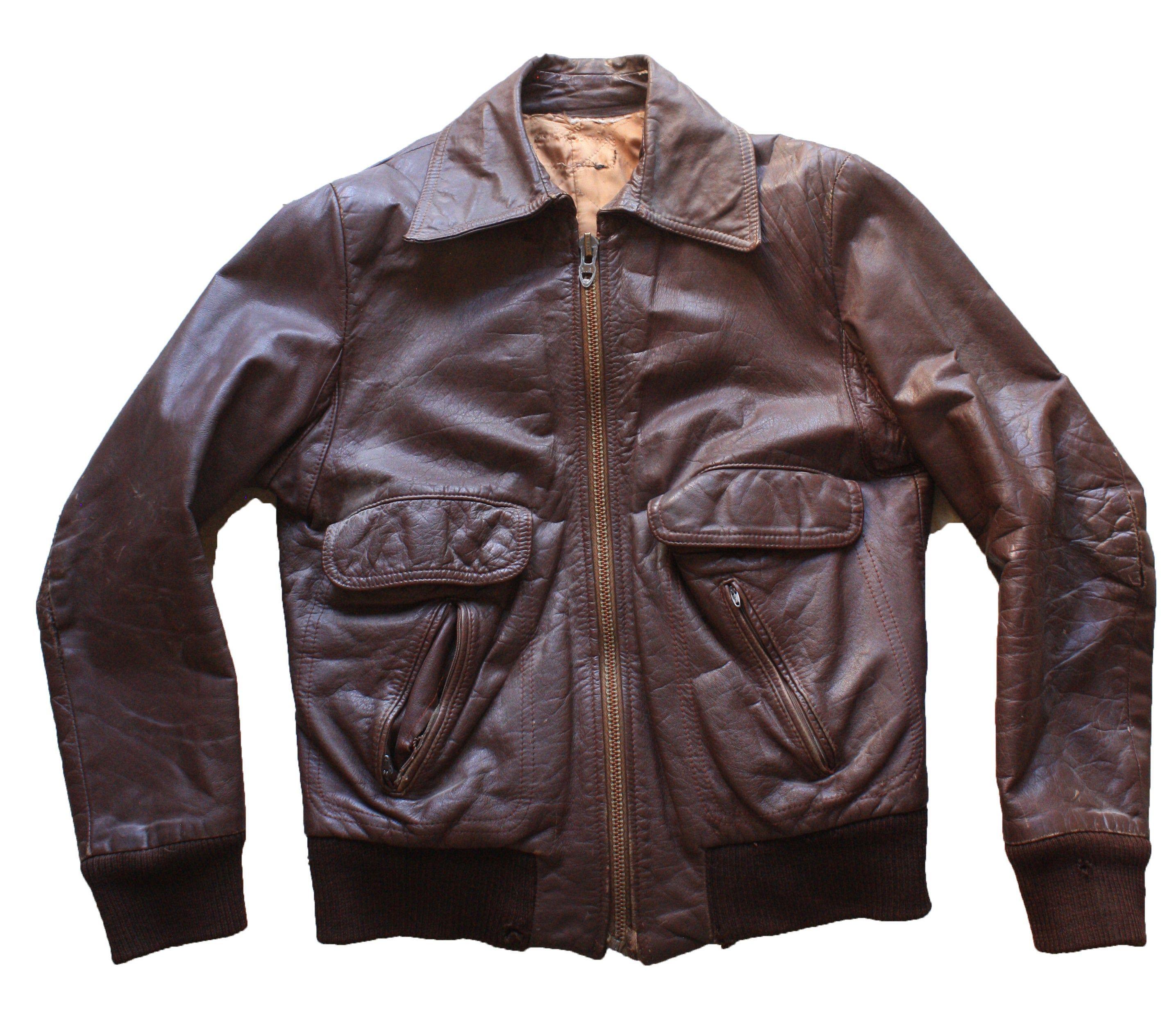 Vintage Leather Jacket Cafe Racer Jacket Biker Jacket Etsy Mens Leather Bomber Jacket Bomber Jacket Vintage Vintage Leather Jacket [ 2528 x 2848 Pixel ]