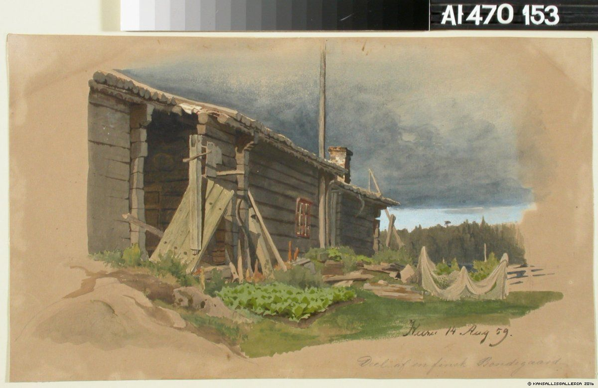 Kansallisgalleria - Taidekokoelmat - Talonpoikaistalo