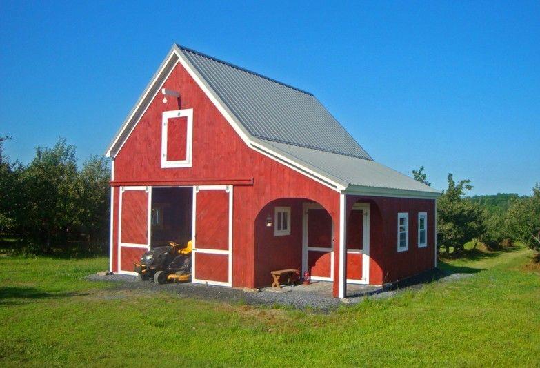 Nice small barn   Outdoor Decor & Ideas   Small barn plans