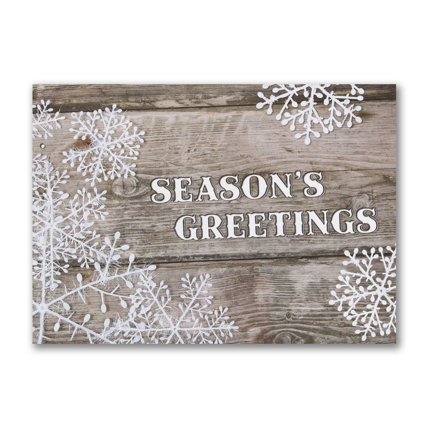 Rustic Seaons Greetings Card Httppartyblockinvitationsoccasions