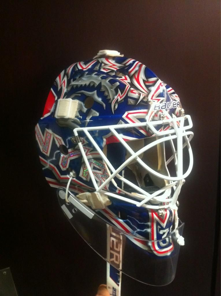 Henrik Lundqvist On Goalie Masks Henrik Lundqvist Goalie Mask