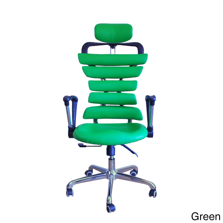 cool ergonomic office desk chair. Constructor Studio Soho Fixed-armrest Ergonomic Office Chair (Green) Cool Desk W