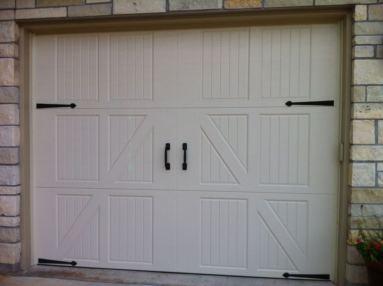 Exterior Carriage Style Garage Doors No Windows Fresh On