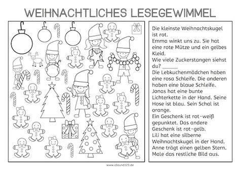weihnachtliches lesegewimmel klasse ideen pinterest grundschule schule und vorschule. Black Bedroom Furniture Sets. Home Design Ideas