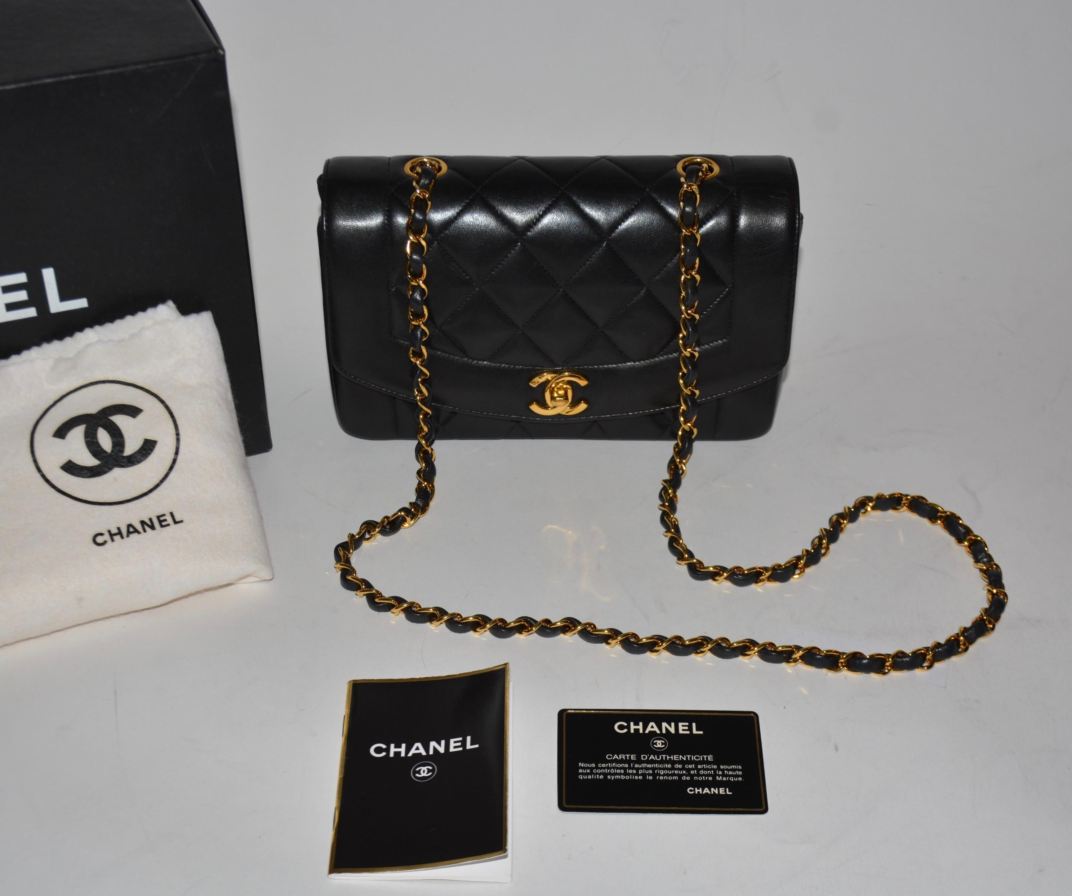 974754394cfb3f Chanel Classic Princess Diana Single Flap Quilted Lambskin Cc 2.55 B  Shoulder Bag. Get one of the hottest styles of the season! The Chanel  Classic Princess ...
