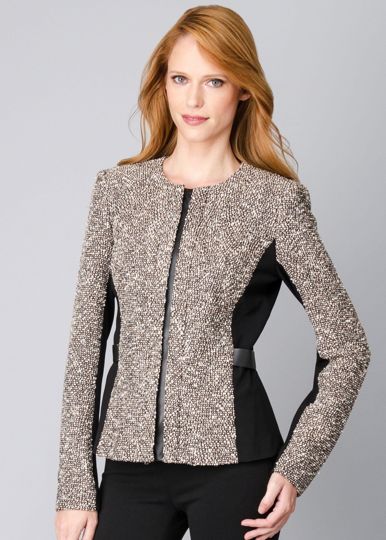 Bijoux Tweed Bently Jacket Womens Jackets & Designer