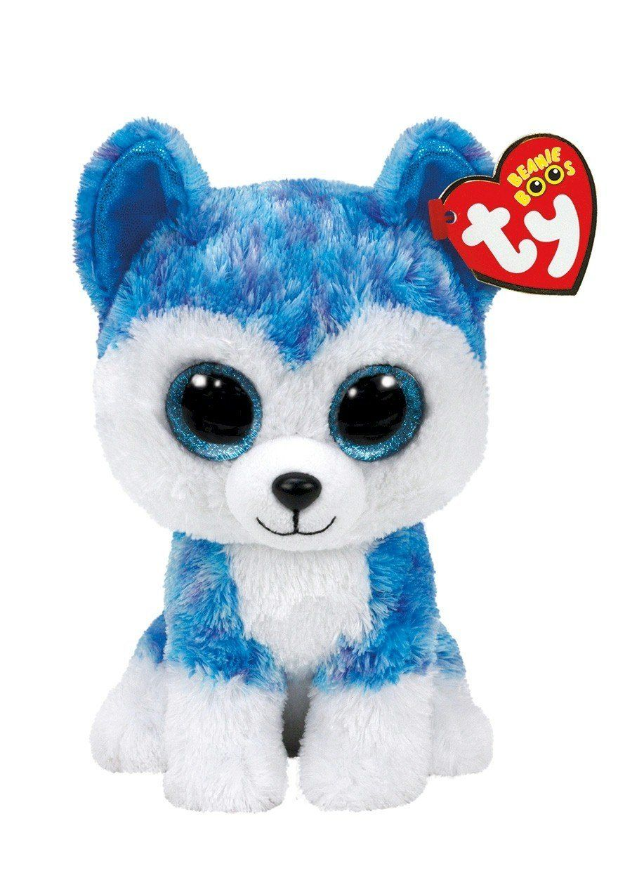 89f5b9af130 Amazon.com  Ty Beanie Boos Skylar - Husky (Justice Exclusive)  Toys   Games