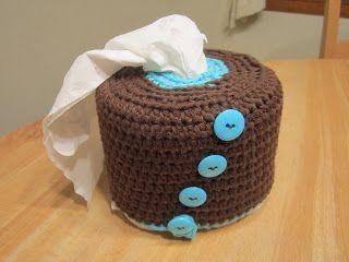 Decorative Crochet Toilet Paper Cover: free pattern
