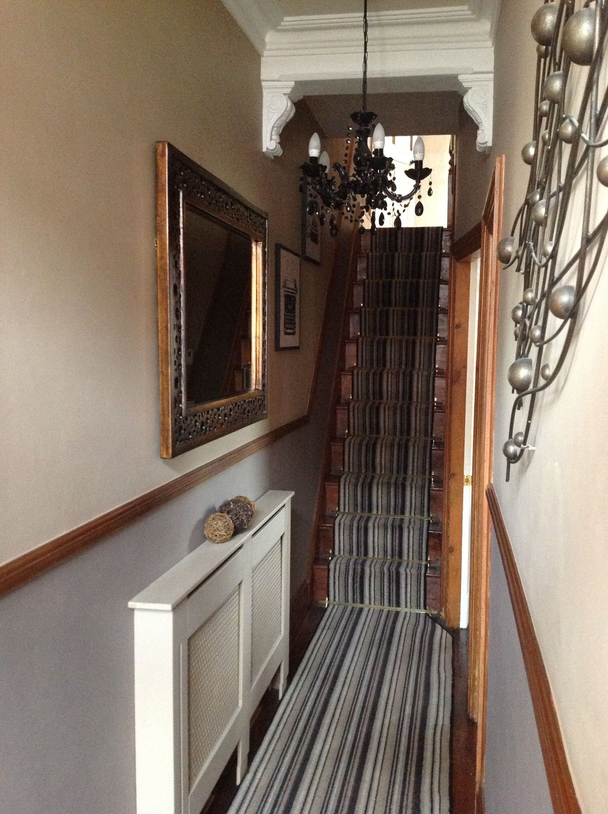 Narrow hallway decor  Long narrow hallway narrow hallway victorian house  Hallway decor