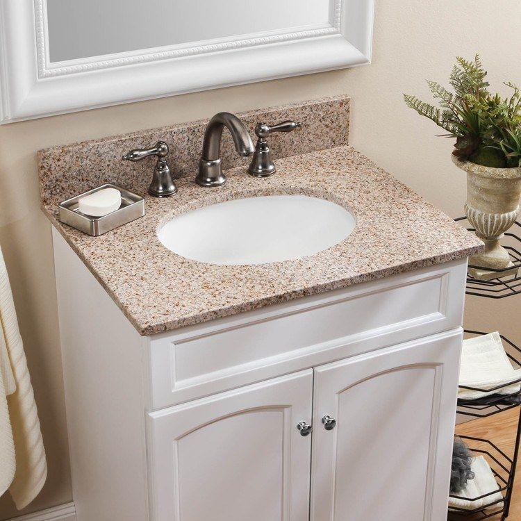 Granite Bathroom, Granite Bathroom Vanity Tops With Sink