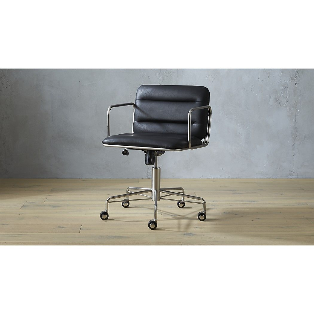 Cb2 mad black office chair modern office chair office