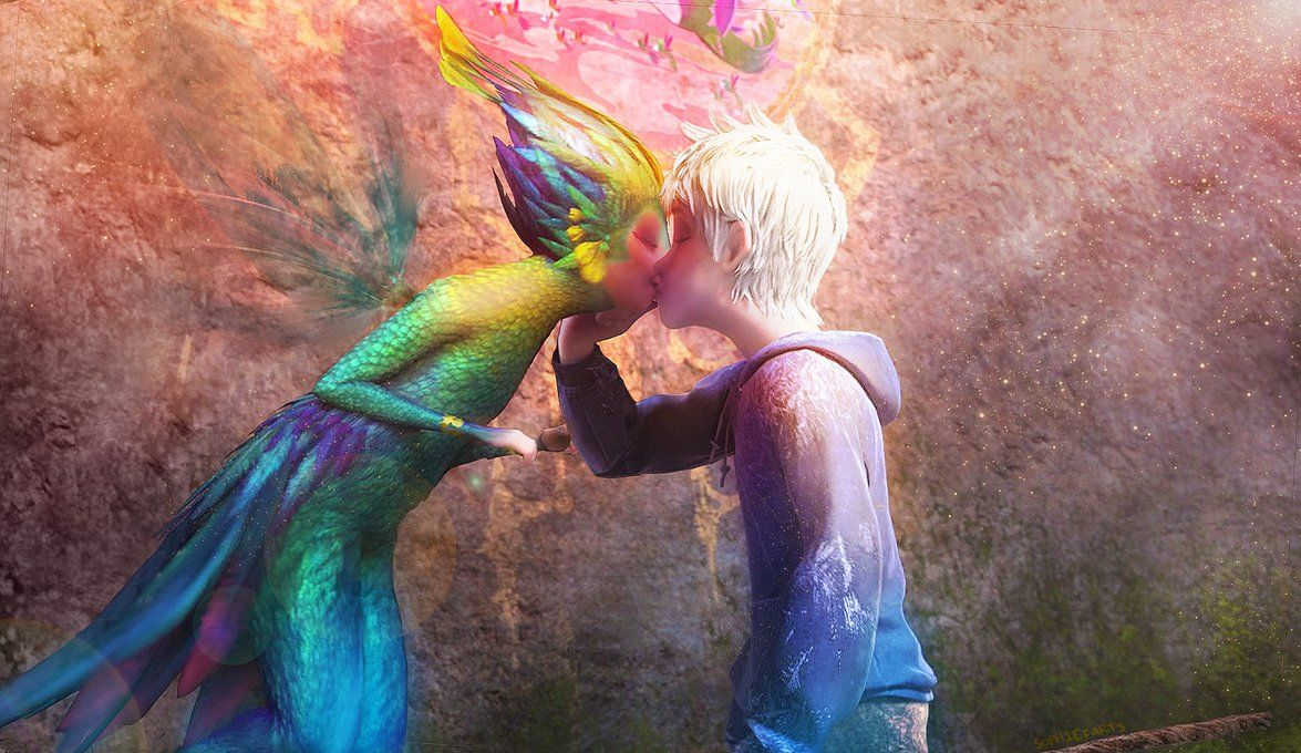 Jack Frost And Tooth Fairy Kiss Was This A Thing