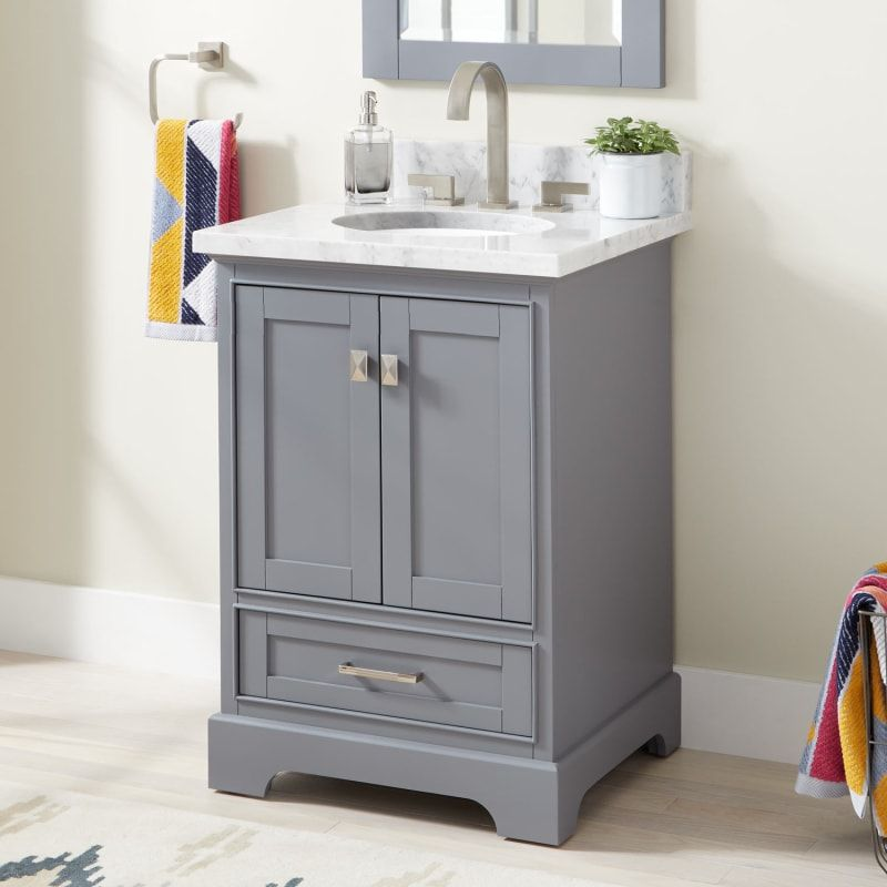 29++ Single vanity with vessel sink type