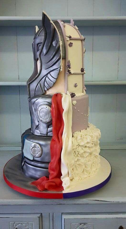 Thor Wedding Cake Pic3