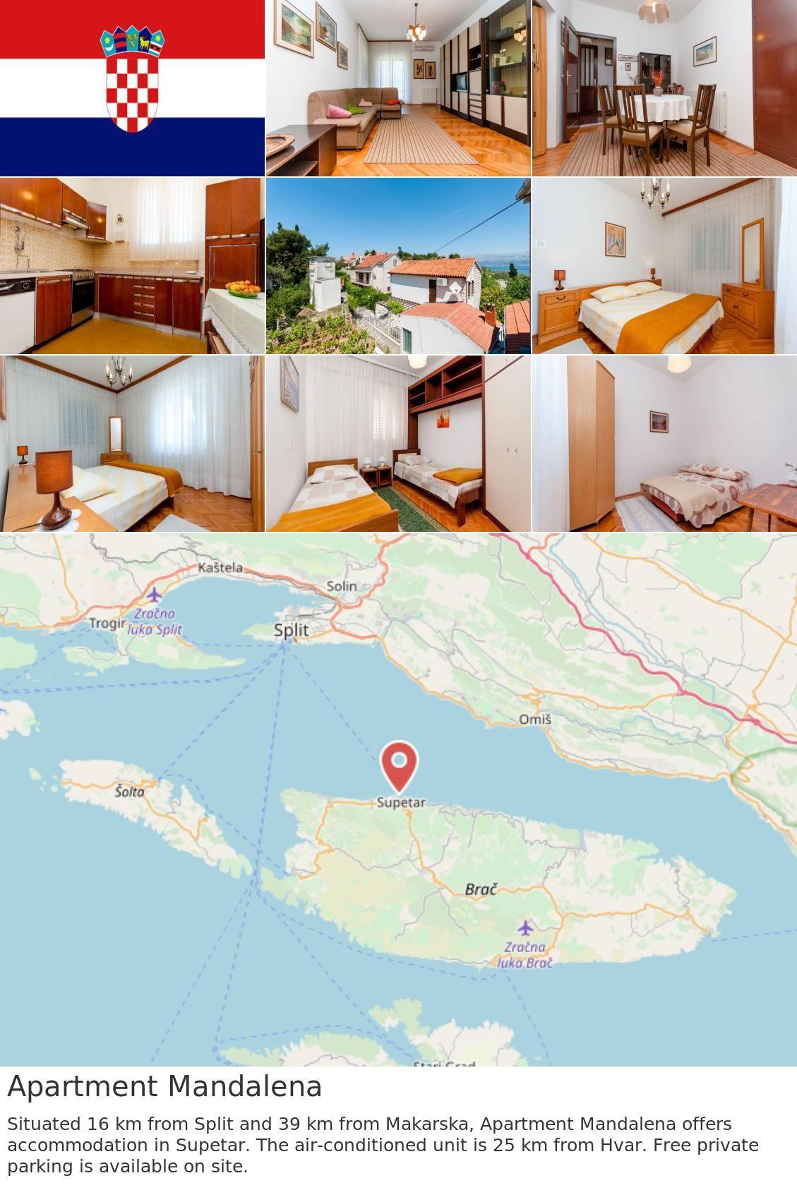 Apartment Mandalena | Croatia | Croatia, Free wifi, Wifi