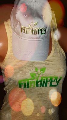 FitnHippy Logo tank LOVE fitnhippy.com