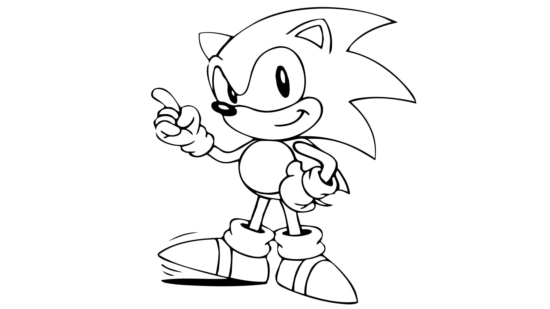 Sonic Cizip Boyama Cocuklar Icin Boyama Videolari Boyama Oyunlari Coloring Pages Character Minnie Mouse