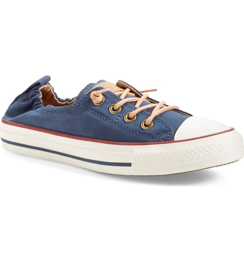 228e477aee8f Free shipping and returns on Converse Chuck Taylor® All Star®  Peached -  Shoreline  Low Top Slip-On Sneaker (Women) at Nordstrom.com.