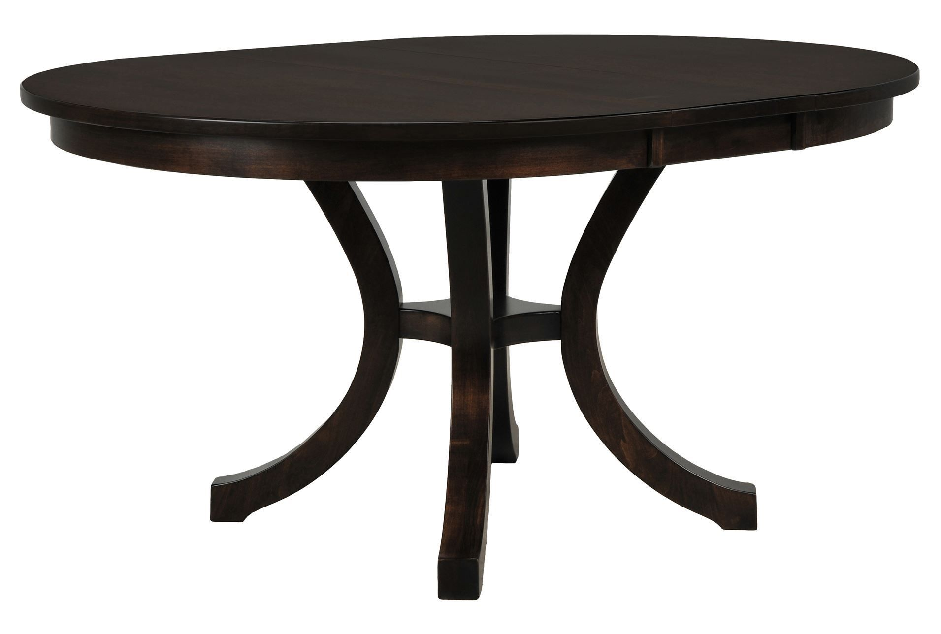 Graham Oval Extension Dining Table 48 W X 60 D X 30 H No Leaf
