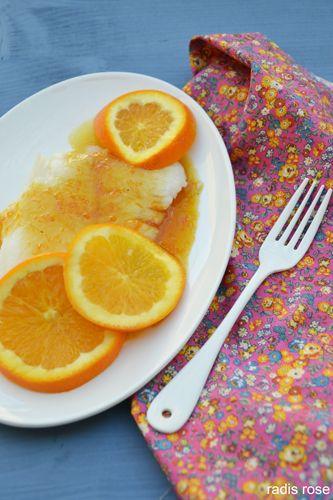 Flétan sauce au miel et à l'orange | Fletan recette
