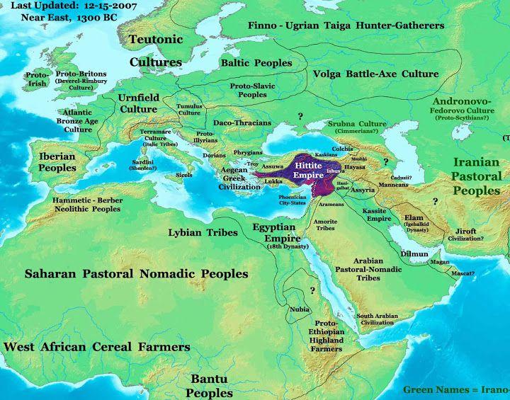 Hittite empire map map courtesy of Thomas Lessman at    www - best of world history maps thomas lessman