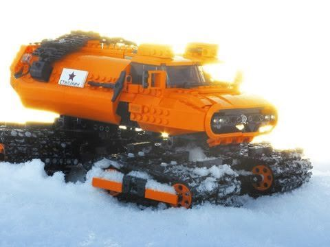 Stilzkin Indrik Arctic Vehicle - Стилзкин Индрик