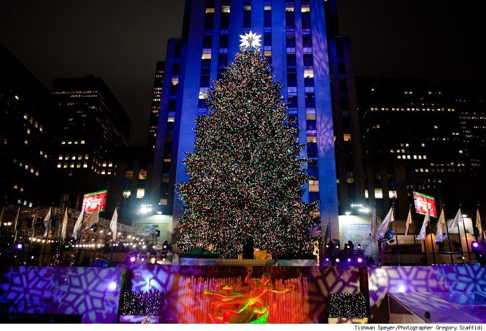 i chose this because since its christmas time in new york then there probably should be a big christmas tree - Big Christmas Tree In New York