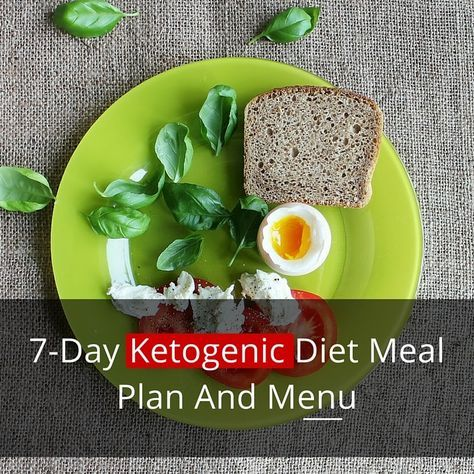 The 7 Day Ketogenic Diet Meal Plan A Beginner S Guide Ketogenic Diet Meal Plan Diet Meal Plans Carbohydrate Diet