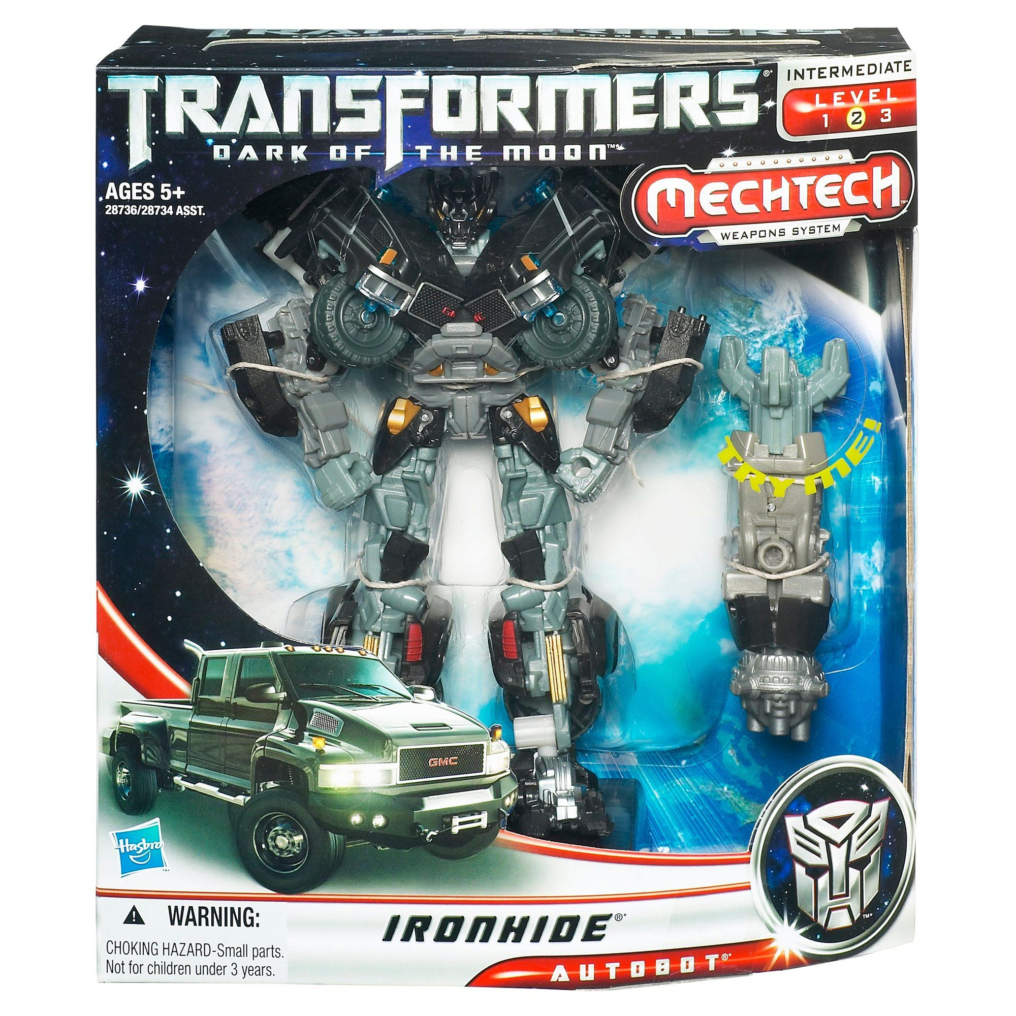 Transformers Dark of the Moon IRONHIDE Complete Cyberverse Dotm