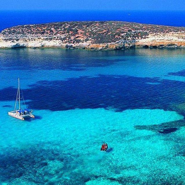 Lampedusa L Isola Dei Conigli Con Immagini Luoghi Di Vacanza Sicilia Luoghi