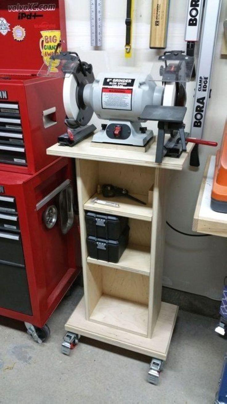 49 projets de bricolage pour de petits locaux dans le garage 49 | Rangement outil garage ...