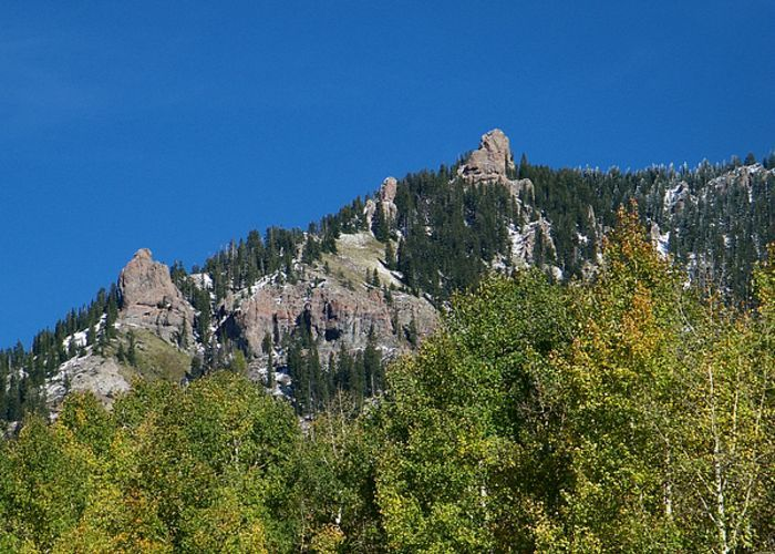 Natures Creative Rock Sculptures in Western Colorado