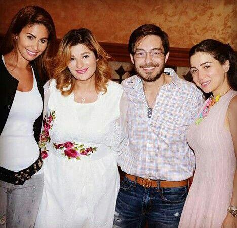 سبوع بنت احمد زاهر نور Long Sleeve Blouse Arab Celebrities Fashion