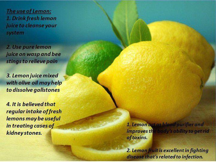 [Isabel Rangel Baron]: Lemon juice