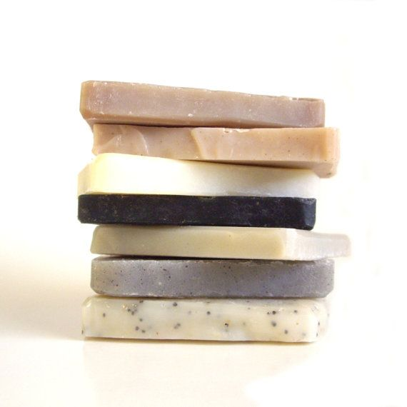 Soap Sampler set  Unscented Soap Vegan Soap All by RightSoap, $15.00