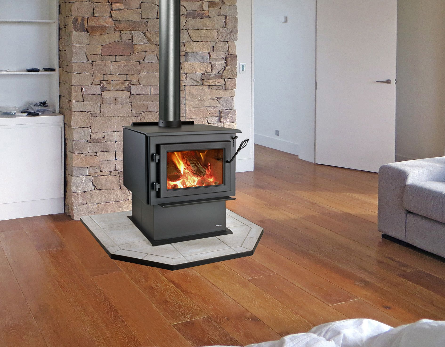 How To Operate A Fireplace The Ws18 Wood Burning Stove Will Deliver Warmth And Comfort To