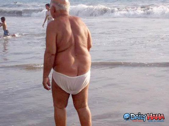 Image result for old man in speedos