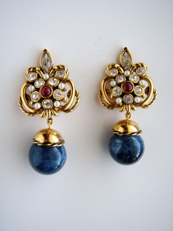 jose maria barrera earrings   Jose Maria Barrera for Avon's Vintage Florentine Style Collection ...
