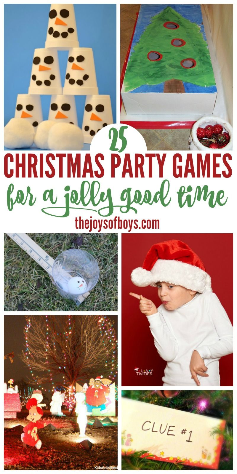 these christmas party games look like so much fun i cant wait to play them at our next christmas party - Fun Christmas Games For Kids