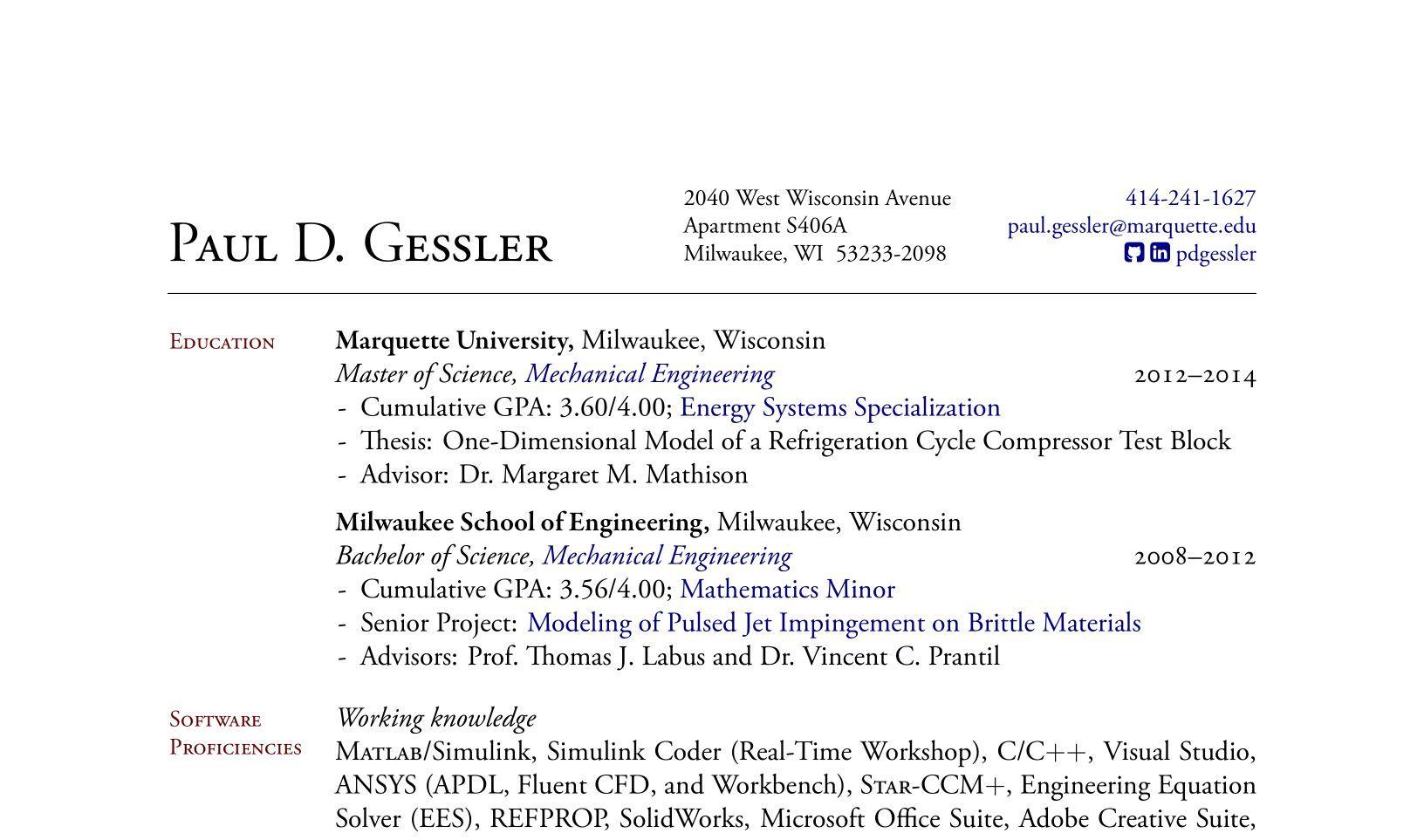 flight test engineer sample resume project management