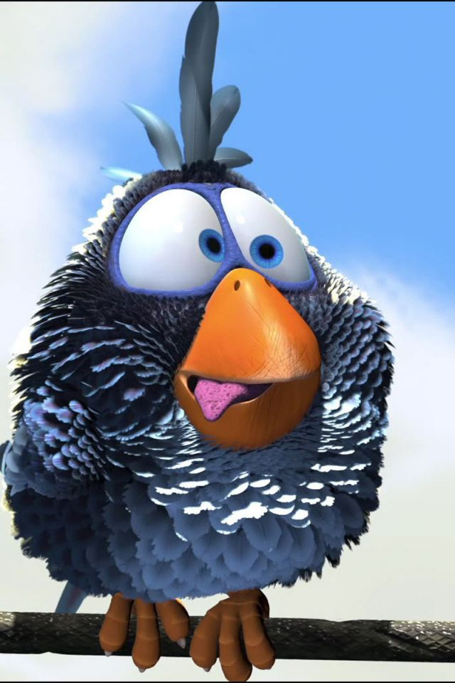 Kids Say The Darndest Things Funny Birds Cartoon Birds