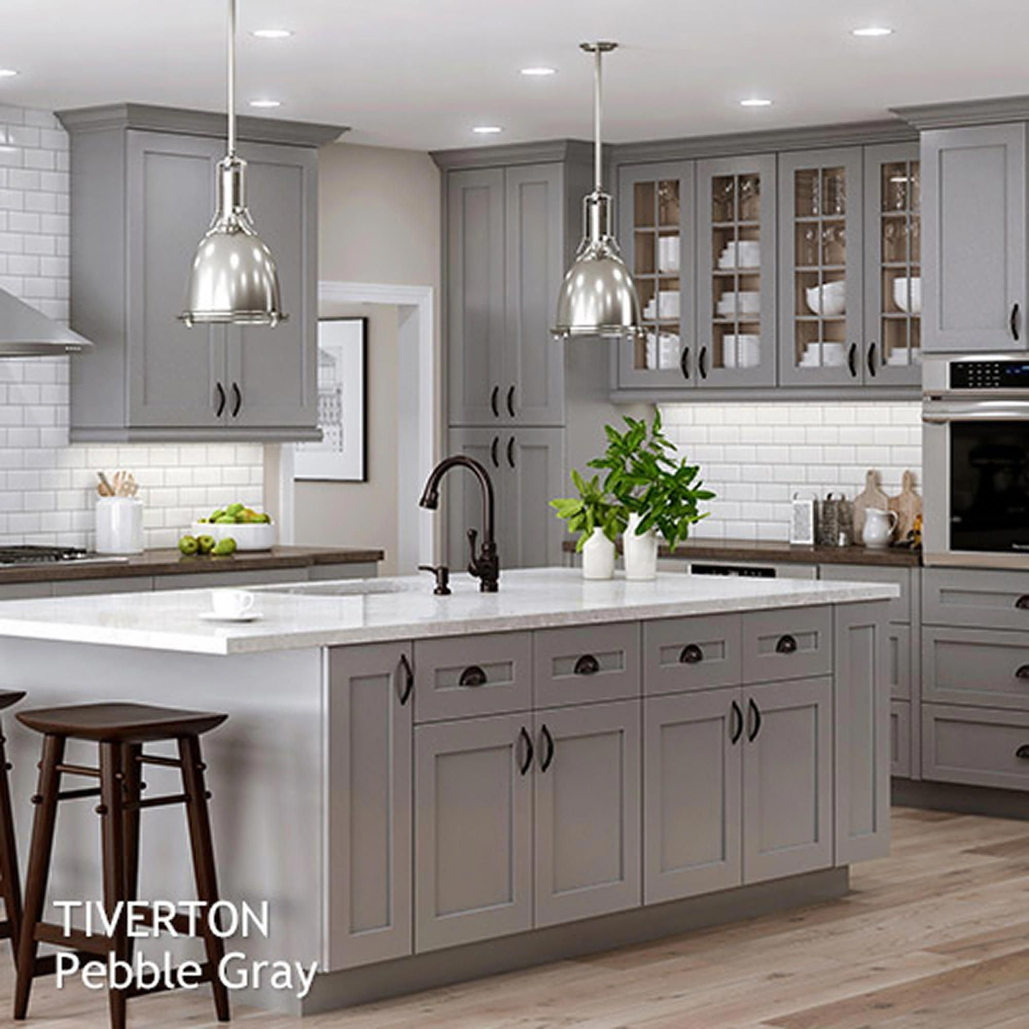 Grey Kitchen Ideas That Are Sophisticated And Stylish: Shaker Style Kitchen Cabinets