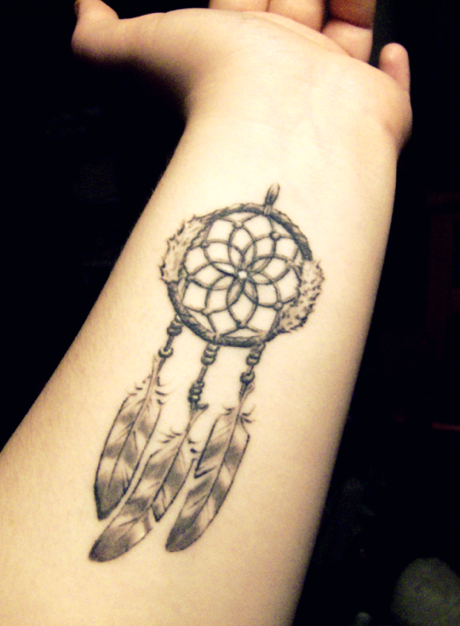 14 Glorious Dream Catcher Tattoos Neck Tattoo Dream Catcher Wrist Tattoo Cool Wrist Tattoos