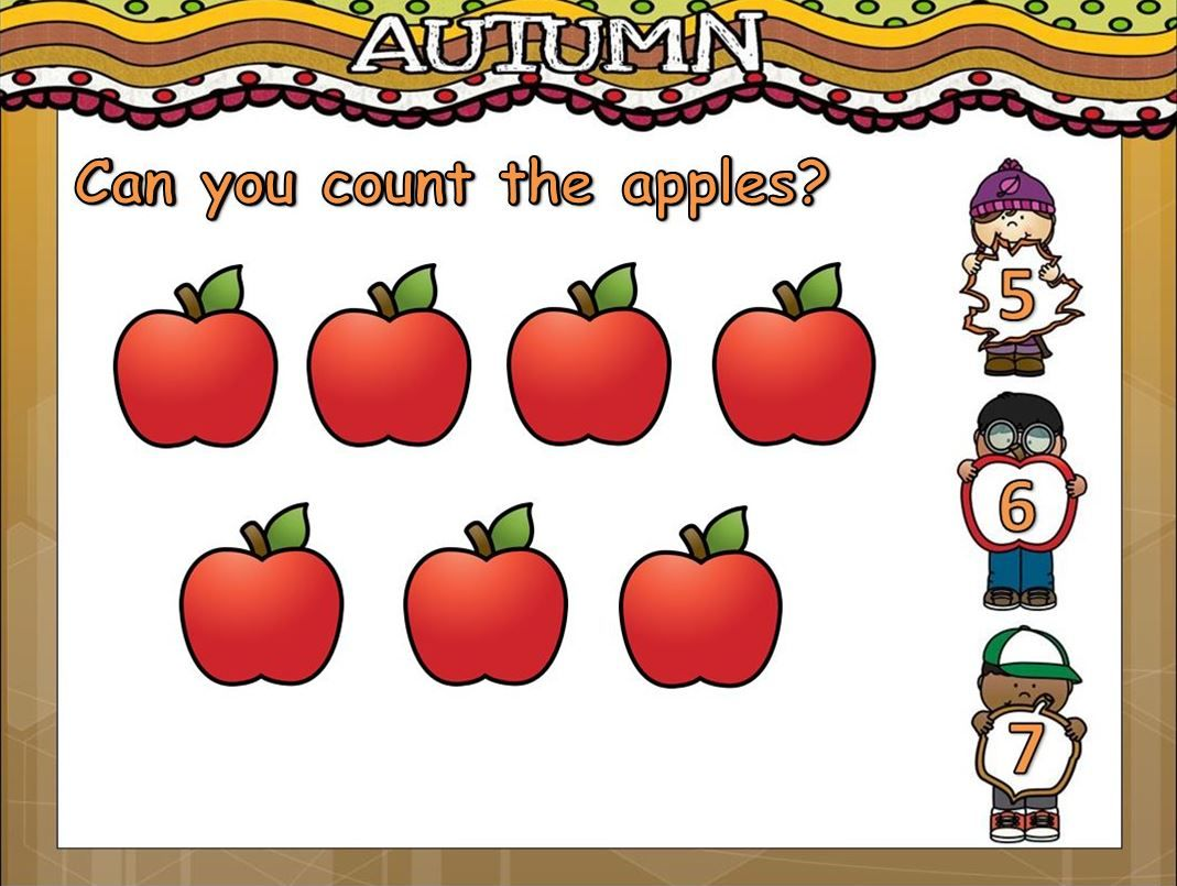 Fall Counting To 10