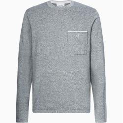 Photo of Calvin Klein Mottled Cotton Sweater Xl Calvin Klein