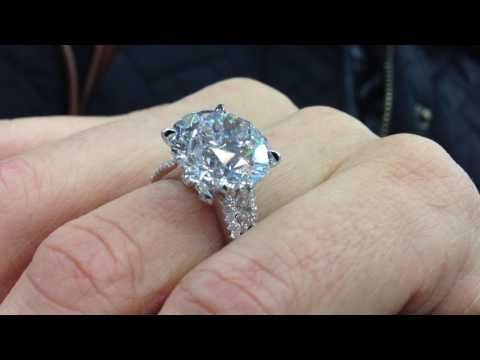 10 Carat Diamond Engagement Ring Youtube Buying An Engagement Ring Diamond Rings With Price Diamond