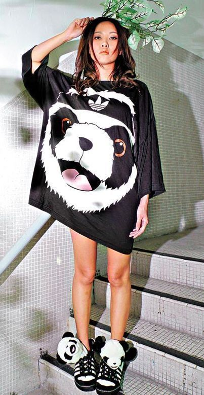 Jeremy Scott Adidas Panda